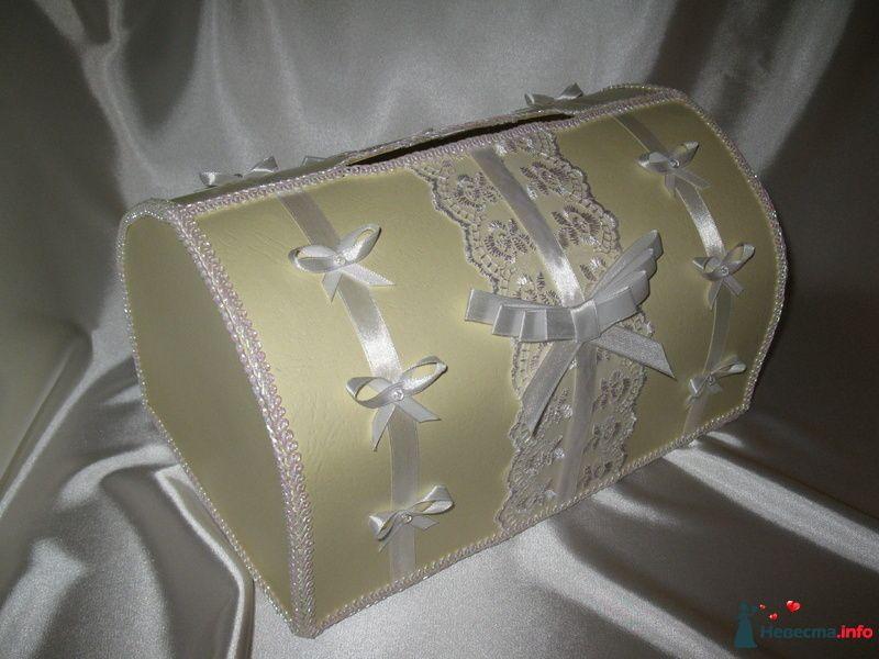 Сундучок для денег-подарков - фото 99277 Невеста01