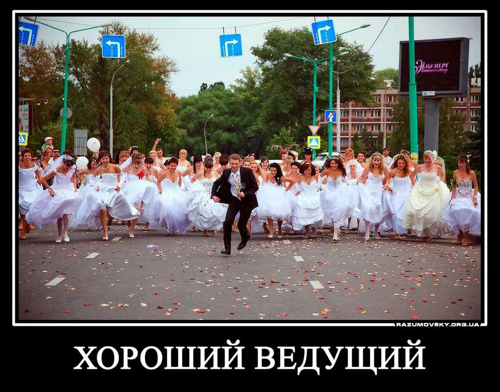 Фото 762985 в коллекции Свадебные демотиваторы Разумовского - Ведущий Григорий Разумовский