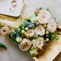Цветочная шкатулка для колец Фотограф Наташа Босяченко Флорист-дизайнер Нина Тазеева