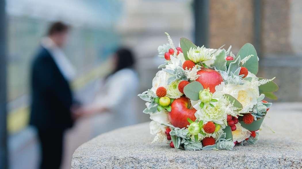 с настоящими яблоками - фото 4696193 Adele floral design - оформление свадеб