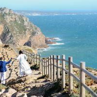 Свадебная церемония на краю Европы! Мыс Cabo de Roca!