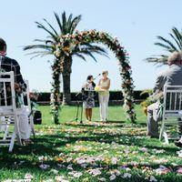 Свадебная Церемония в отеле с видом на Атлантический океан!