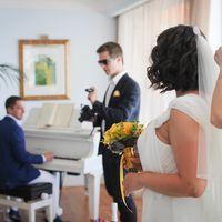 Свадебная церемония в отеле с видом на Атлантический окен!