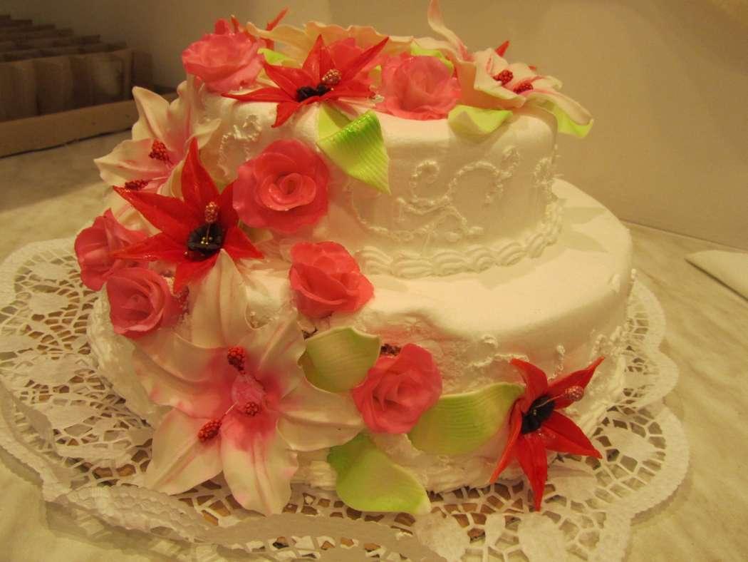 Фото 784681 в коллекции Свадебный торт- красивый десерт любого торжества!!! - Идеальная Свадьба - свадебное агентство
