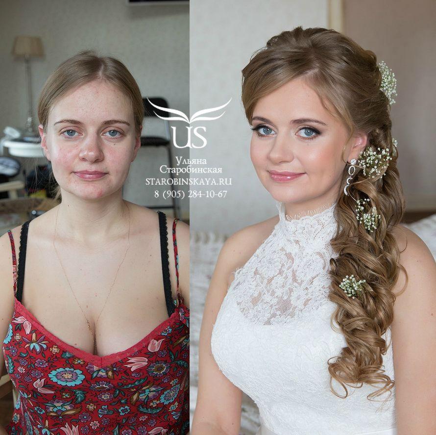 Свадебные прически для русых волос