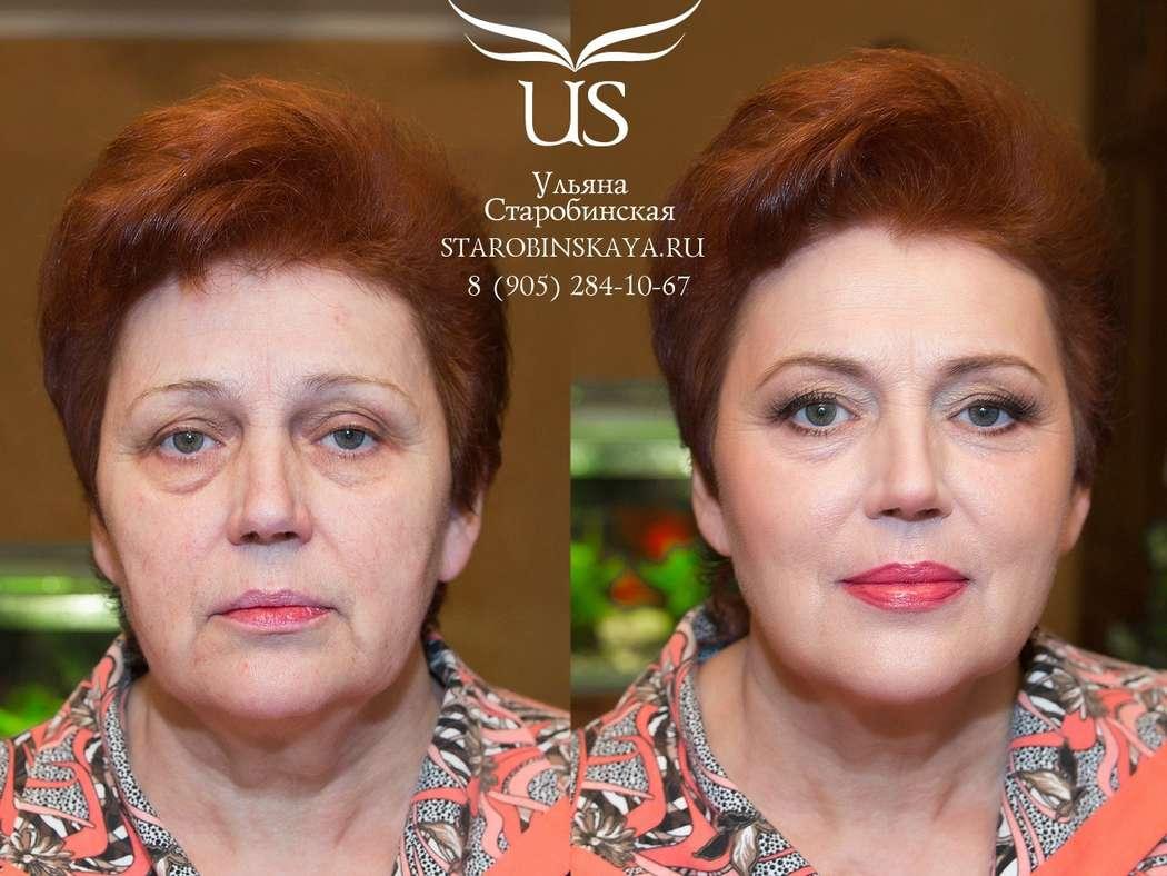Праздничный макияж для женщин за 40 фото