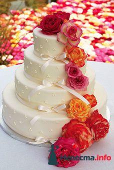 """свадебный торт - фото 94615 """"Свадебное агентство №1"""""""