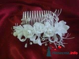 Гребень роза - фото 94933 помошь невестам