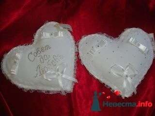 Подушка Сердце - фото 94962 помошь невестам