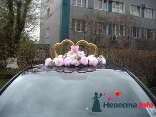 Композиция с сердцами Роза - фото 94990 помошь невестам