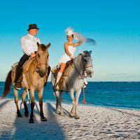 Оригинальная свадебная фотосессия в Кап-Кане, Доминикана.