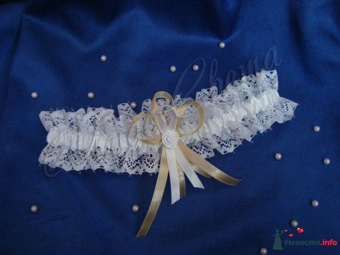 """Подвязка невесты - фото 95429 Студия """"ЧудоСвета"""" - cвадебные аксессуары"""