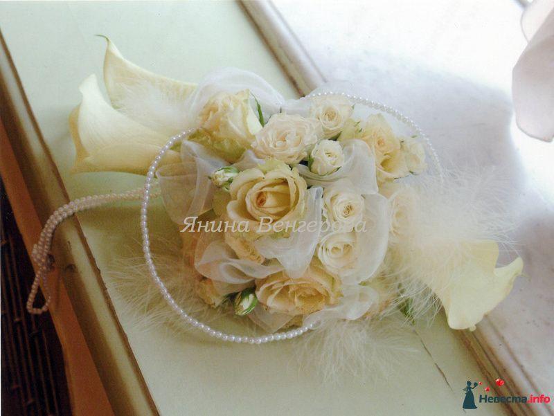 букет в стиле ретро - фото 106298 Флорист-декоратор Янина Венгерова