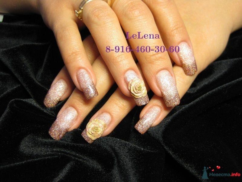 Фото 96453 в коллекции Мои фотографии - LeLena - свадебное наращивание ногтей