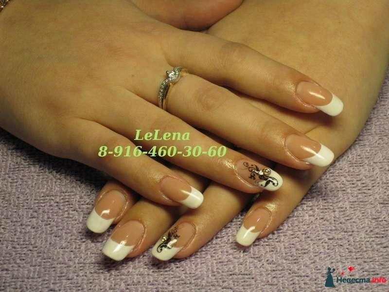 Фото 96459 в коллекции Мои фотографии - LeLena - свадебное наращивание ногтей