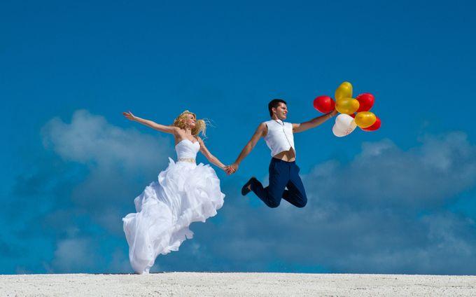 Свадебная фотосессия в Кап-Кане, Доминикана.