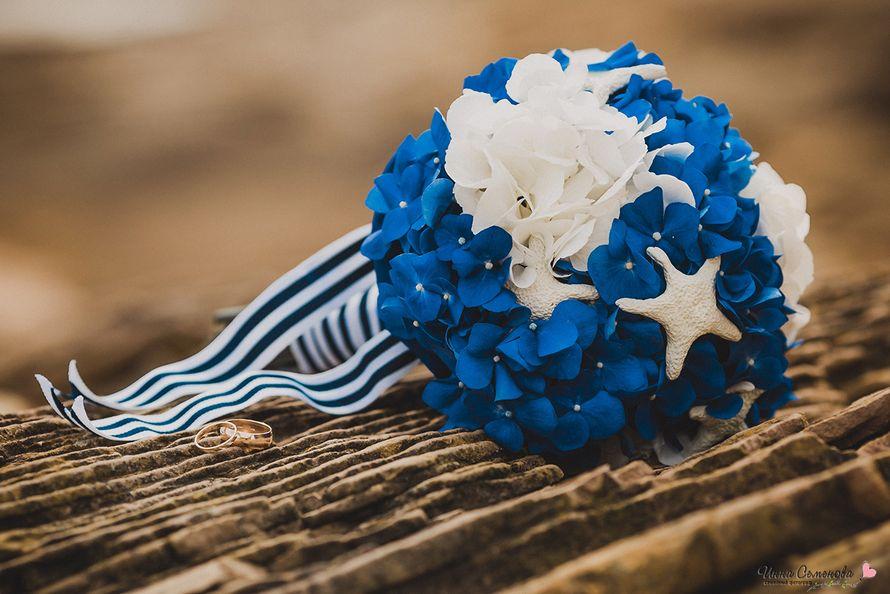 Цветов, морские букеты для невесты