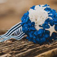 Букет невесты. Морская свадьба Маши и Димы. Фотограф Инна Семенова