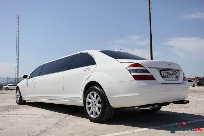 """Белый """"Mercedes"""" на автостоянки, на фоне зелени луга. - фото 103019 Компания """"КАРАВАН-СЕРВИС"""""""