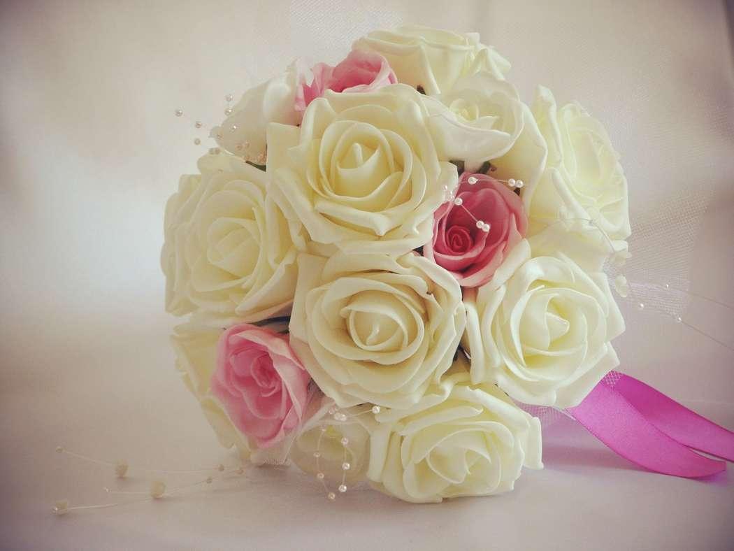 Искусственные букеты невест своими руками 192