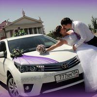 Украшения на свадебные машины в Волгограде