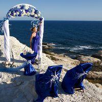 Морское оформление свадьбы на Кипре