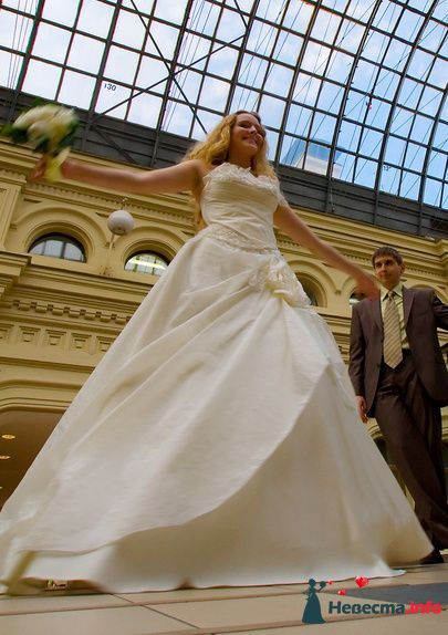 Фото 107313 в коллекции Наши платья в вашей жизни  (фото) - Платье для Золушки - прокат свадебных платьев