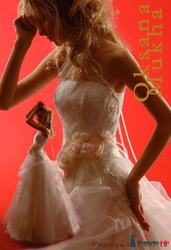 платье Вирджиния 18 Оксаны Мухи - 42-44 размер, прокат 4000р +5000р залог - фото 118742 Платье для Золушки - прокат свадебных платьев