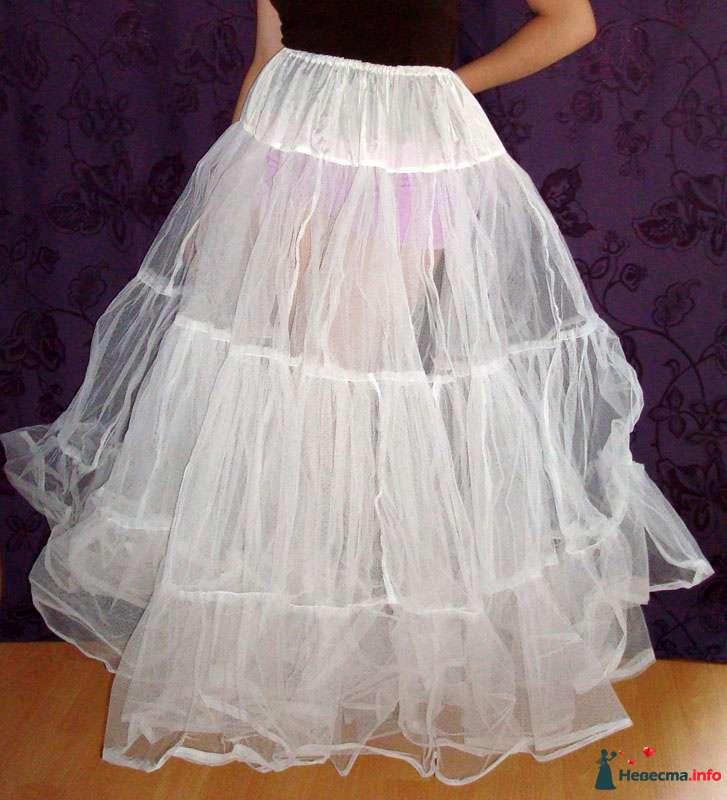 Многослойный очень пышный подъюбник из жёсткого фатина - фото 125380 Платье для Золушки - прокат свадебных платьев