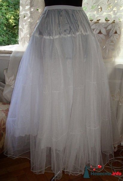 подъюбник из жёсткого фатина - фото 125382 Платье для Золушки - прокат свадебных платьев