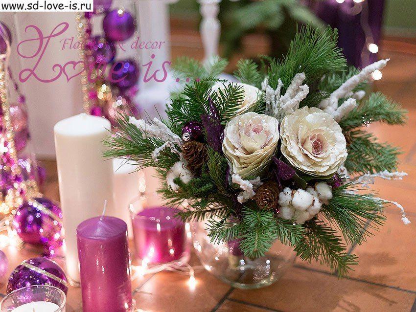Фото 13487648 в коллекции Новогодняя свадьба – создаем настроение! - Студия декорирования Love is...