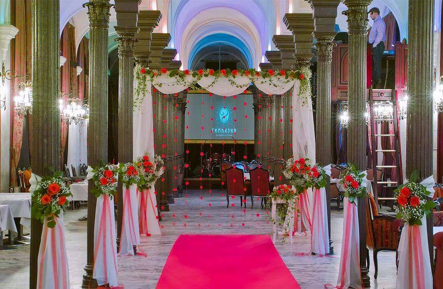 """Свадьба в ресторане """"Гимназия"""" - фото 17579488 Дизайн-студия Nommo"""