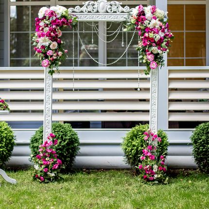 Оформление и декор цветами