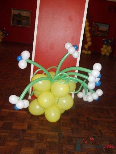Фото 11499 в коллекции Как  украсить зал шариками самостоятельно - Невеста01