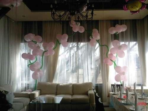 Фото 11501 в коллекции Как  украсить зал шариками самостоятельно - Невеста01