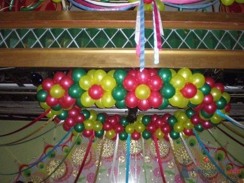 Фото 12154 в коллекции Как  украсить зал шариками самостоятельно - Невеста01