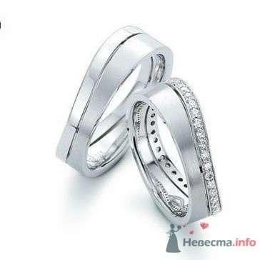 Фото 9089 в коллекции Обручальные кольца из белого золота - Интернет-магазин Miagold