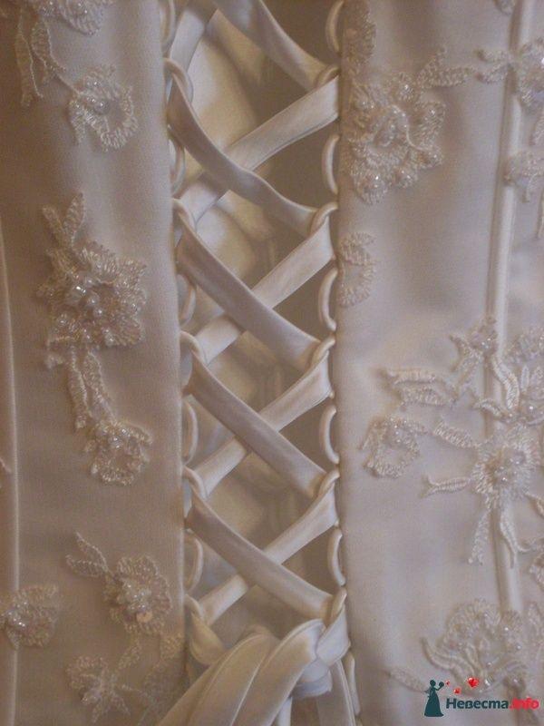 Корсажное платье TO BE BRIDE - шнуровка на спине