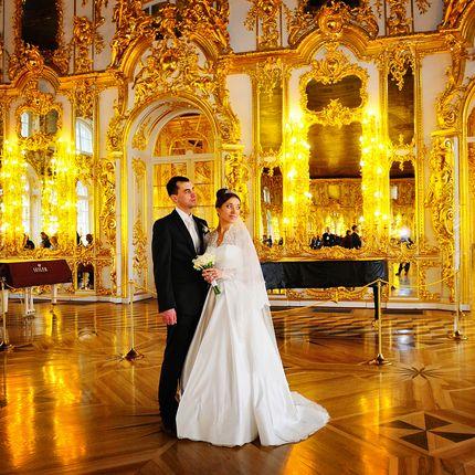 Свадебная фотосессия в Пушкине, за 1 час