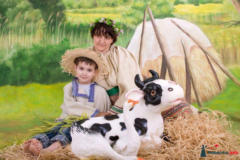 Другая роль... Мама пастуха.