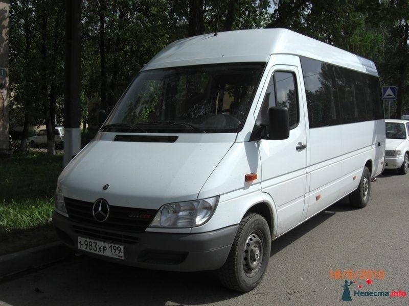 Фото 128339 в коллекции Микроавтобус Mercedes Sprinter - Новый Город - заказ автобуса
