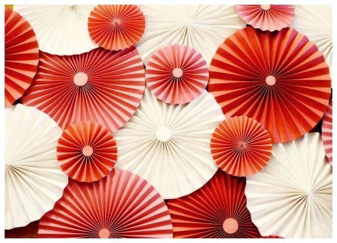 Зонтики на стену из бумаги своими руками 68