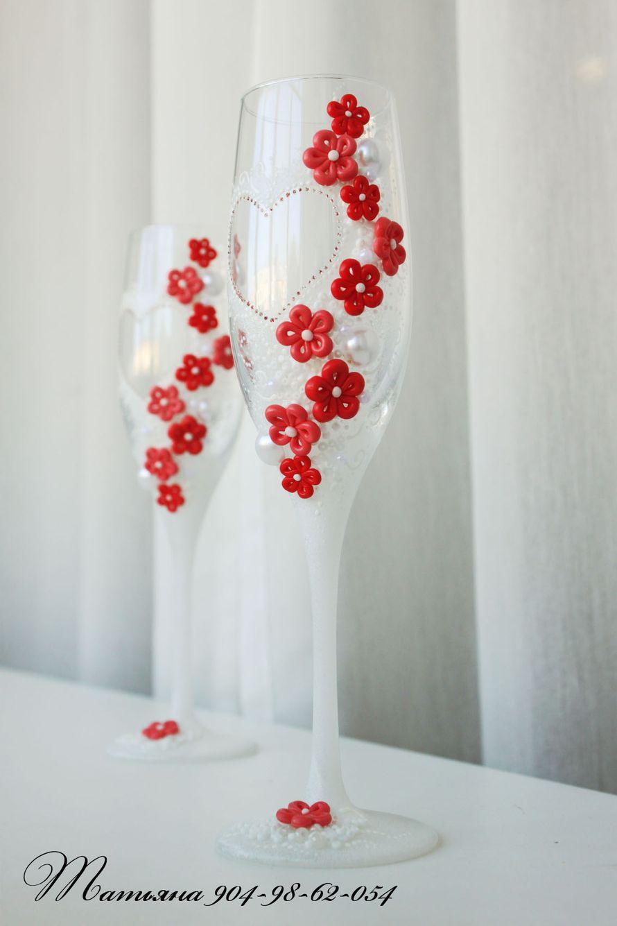 Фото 1009783 в коллекции Бокалы - Свадебные аксессуары от WeddingDecor