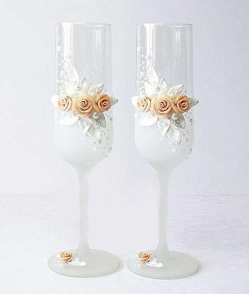 Фото 967669 в коллекции Бокалы - Свадебные аксессуары от WeddingDecor
