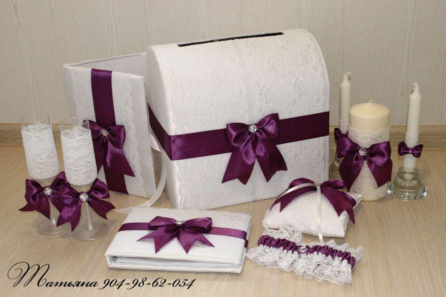 Фото 998467 в коллекции Комплекты - Свадебные аксессуары от WeddingDecor