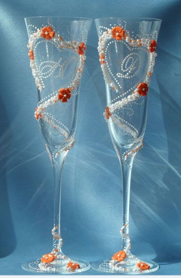 Фото 1041141 в коллекции Бокалы - Свадебные аксессуары от WeddingDecor