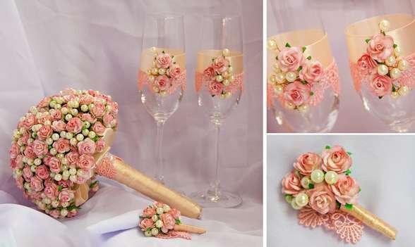 Фото 1041151 в коллекции Бокалы - Свадебные аксессуары от WeddingDecor