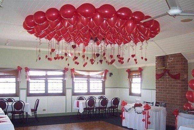 Как украсить потолок на день рождения своими руками