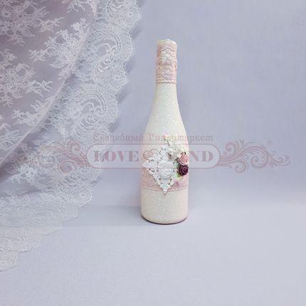 Декор свадебных бутылок - артикул 12