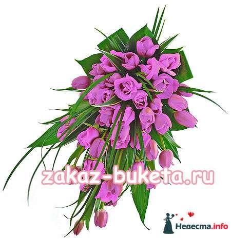 Сиреневый  - тюльпаны и розы - фото 124701 Zmeika